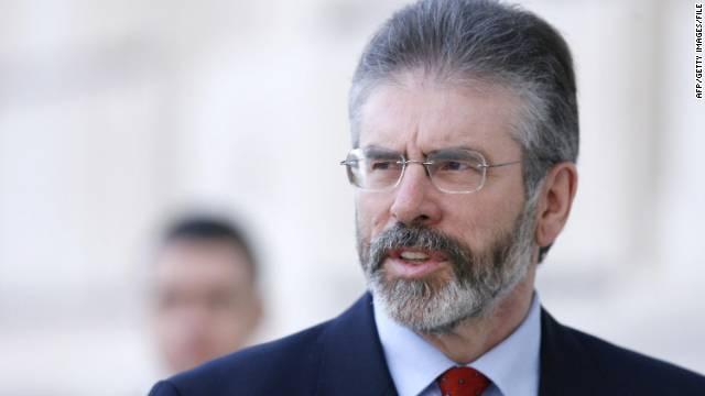 Sinn Fein leader arrested