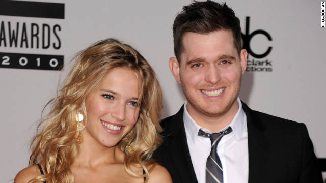 Michael Bublé wants to start a family as soon as his wife, Luisana Loreley Lopilato de la Torre, is on board.