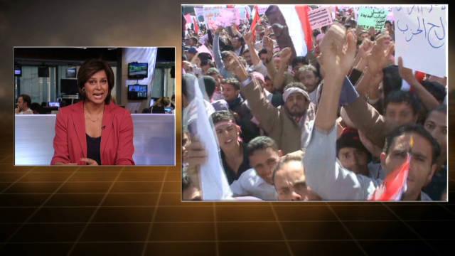 Gadhafi's death inspires Arab protesters