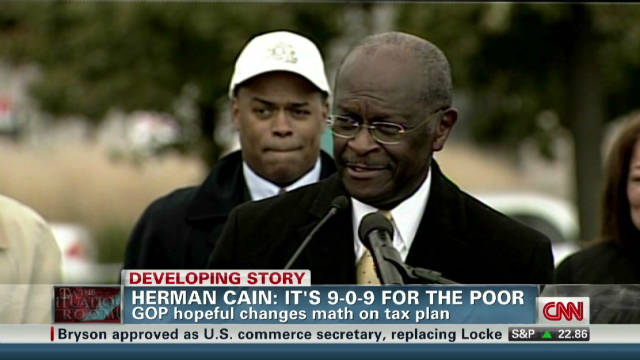 Herman Cain: It's 9-0-9 for the poor