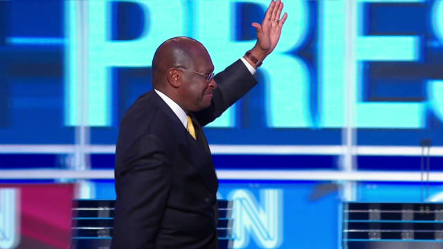 Cain's rise to the GOP spotlight