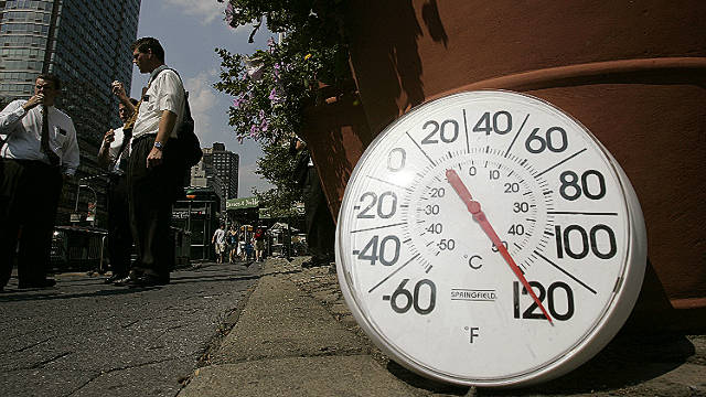 A new study backs up previous research which says that global temperatures are rising.