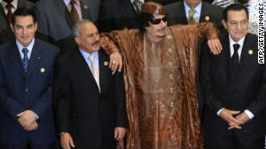 Zine El Abidine Ben Ali, Ali Abdullah Saleh, Moammar Gadhafi and Hosni Mubarak were all deposed during the Arab Spring.