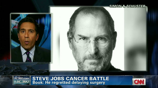 Jobs initially resisted cancer surgery