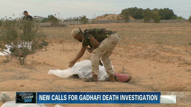 Cooper: New details in Gadhafi's death