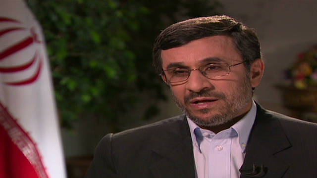 Ahmadinejad: 'We condemn killing'