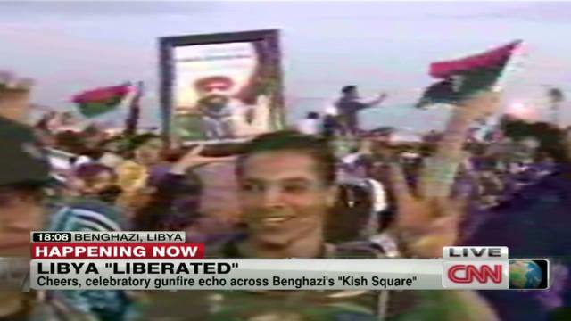 Libya liberation celebrations