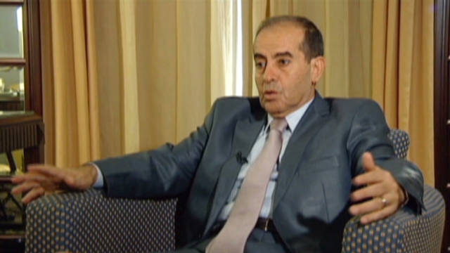 Interview with Libya's interim prime minister
