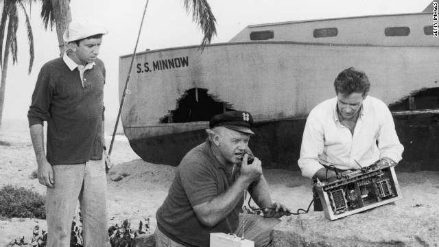 Castaways on Gilligan's Island attempt to use a homemade CB radio to contact civilization after being shipwrecked.