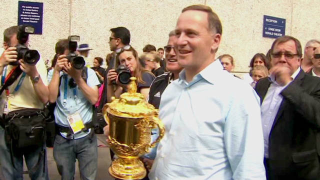 New Zealand pays homage to rugby heroes