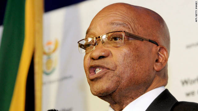 South African President Jacob Zuma launched a major anti-corruption drive yesterday.