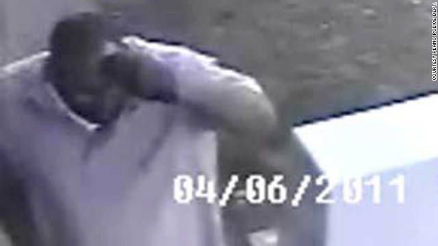 Police in Plano, Texas, released a video -- dated in April -- of a possible sexual assault suspect.