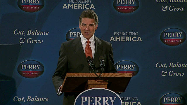James Carville says Texas Gov. Rick Perry is utterly incapable of running for president.