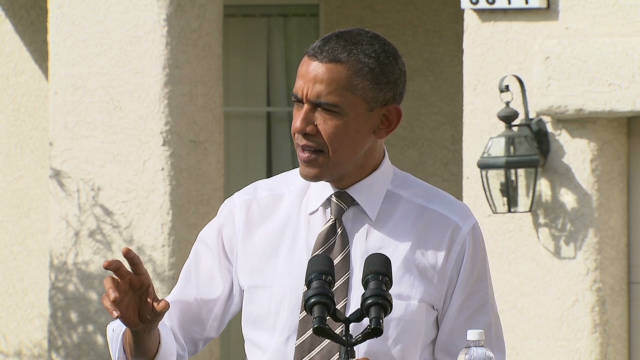 Obama introduces plan to help homeowners