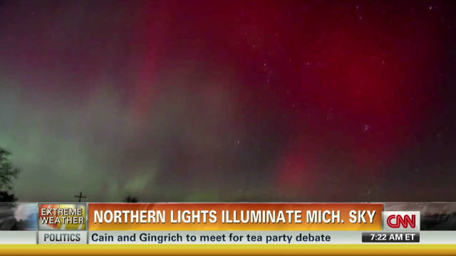 Northern Lights seen across U.S.