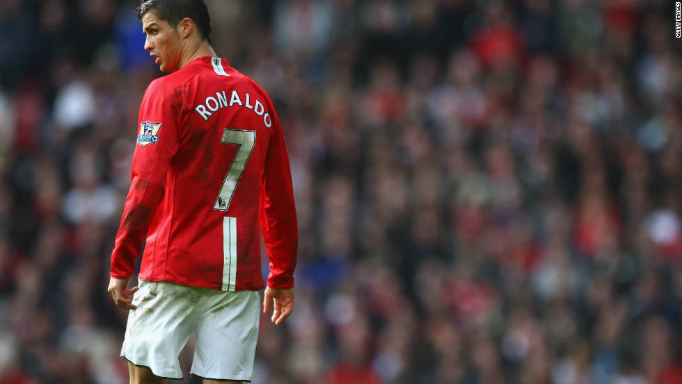 Ferguson's signing of Cristiano Ronaldo in 2003 paid off as the Portugal forward fired United to Champions League glory in 2008 and was named world player of the year -- the first from the EPL to do so -- before joining Real Madrid in a record $130 million deal.