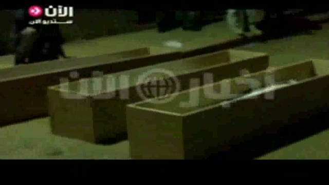 Alleged video of Gadhafi burial ceremony