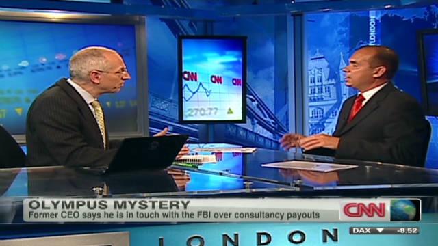 Ex-CEO addresses Olympus controversy