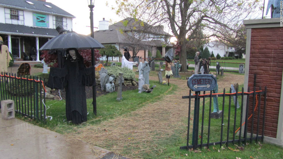 Gary and Mary Server's Haunted Hollow is an annual tradition for many residents of Clarence Center, New York.