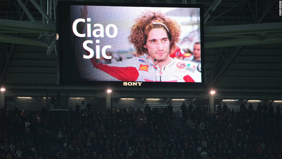 The starting grid will be less colorful this year due to the absence of charismatic Italian rider Marco Simoncelli, who died after crashing at the Malaysian Grand Prix in October.