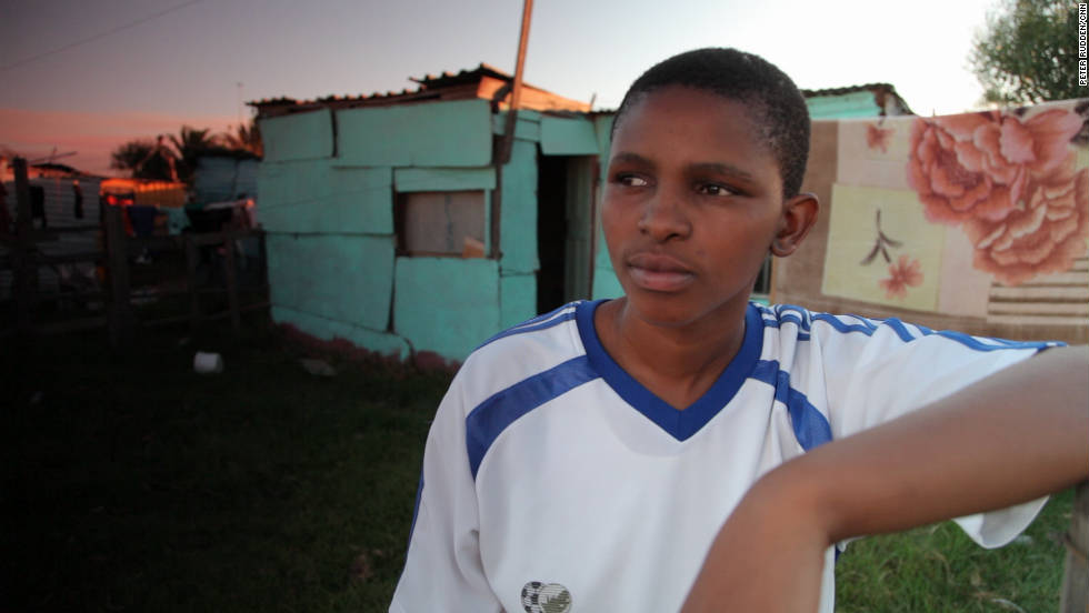 Zukiswa Gaca was 15 when she ran away from her home in rural South Africa after being raped. In Khayelitsha, near Africa's 'gay capital' she was again targeted again, a victim of what's called 'corrective rape.'