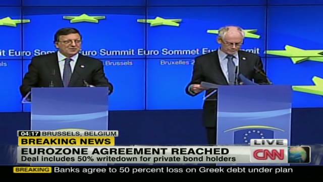 Eurozone debt agreement reached