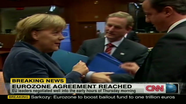 Asia reacts to eurozone deal agreement