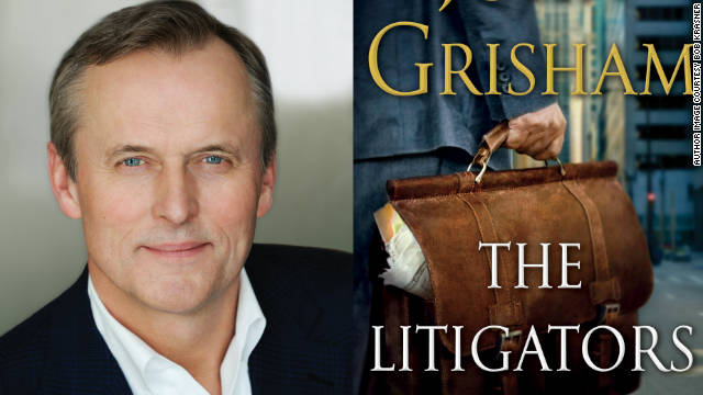 "John Grisham returns with a new legal thriller, ""The Litigators."""