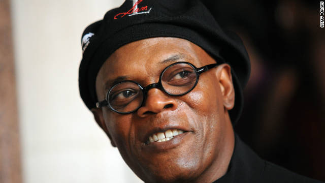 Samuel L Jackson is shown here at an event in London in 2011.