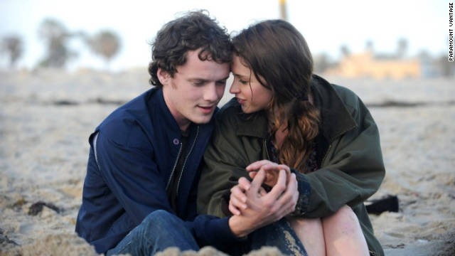 """Like Crazy"" stars Anton Yelchin and Felicity Jones."