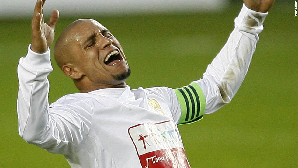 Brazilian World Cup winner Roberto Carlos walked off the pitch while playing for Russian team Anzhi Makhachkala against Krylya Sovetov in June 2011, after having a banana thrown towards him in the closing stages of the match.