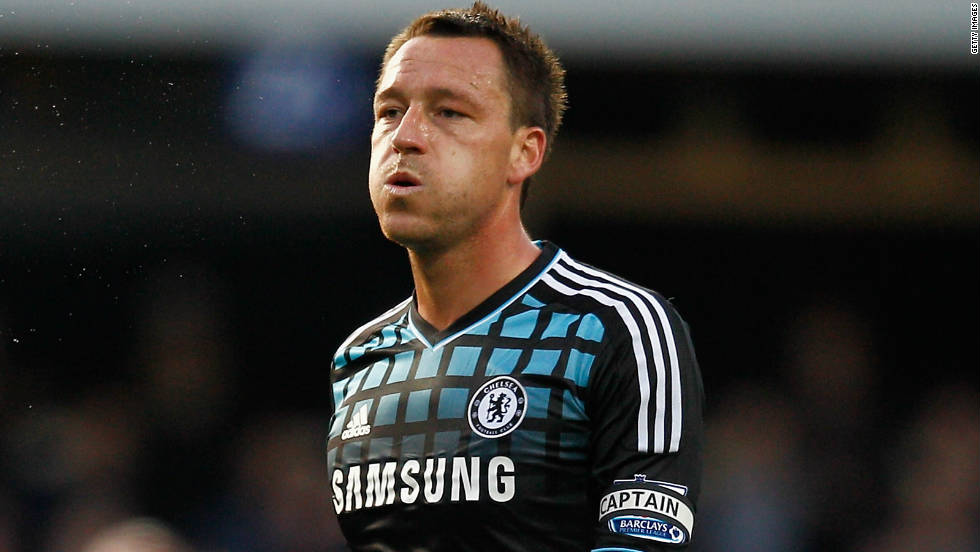 Chelsea and England captain John Terry was charged by UK police after allegedly making racist remarks to Queens Park Rangers defender Anton Ferdinand in October 2011. Terry was cleared of the charges in a London court in July 2012.