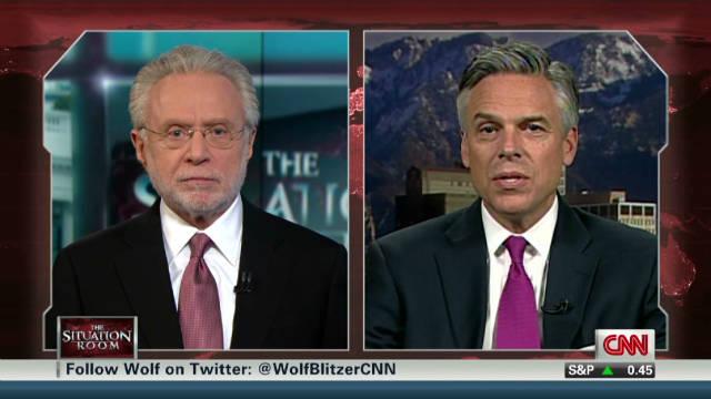 Huntsman slams Romney as a flip-flopper