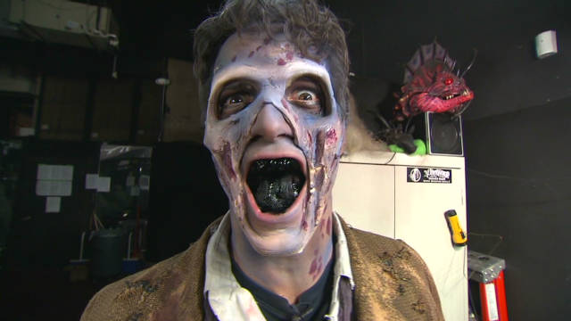 CNN weatherman becomes zombie