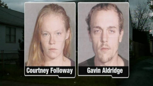 Courtney Followay and Gavin Aldridge are accused of child endangering, obstructing official business and animal cruelty.