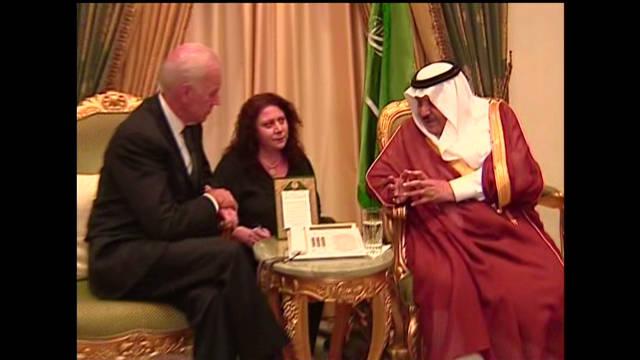 Biden meets Prince Nayef bin Abdulaziz