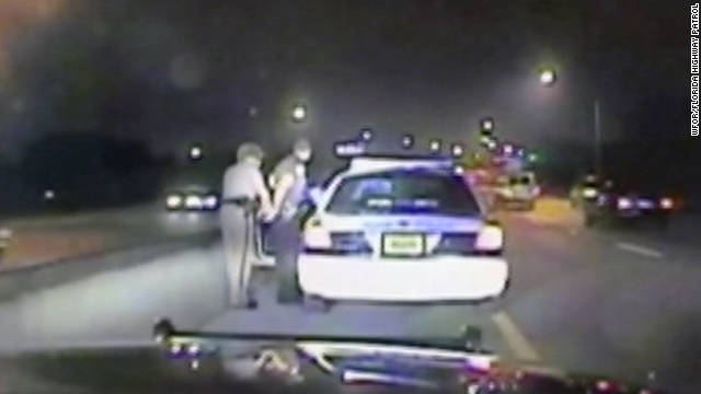 Miami Police officer Fausto Lopez was pulled over by the highway patrol after allegedly  speeding on the Turnpike.