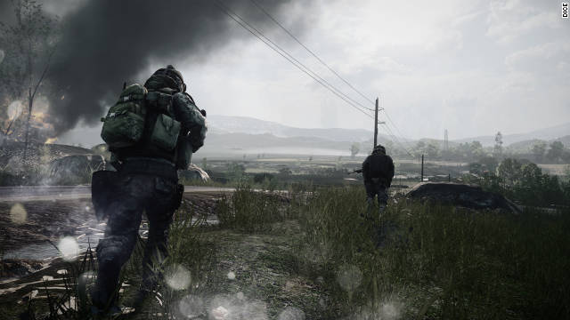 "The hit sequel ""Battlefield 3.."""
