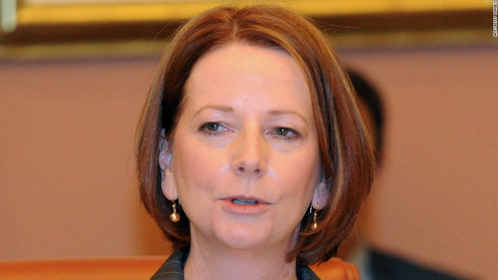 Australia's Prime Minister Julia Gillard is the first woman to accept the role of honorary chairman, taking the helm for this week's event in Melbourne.