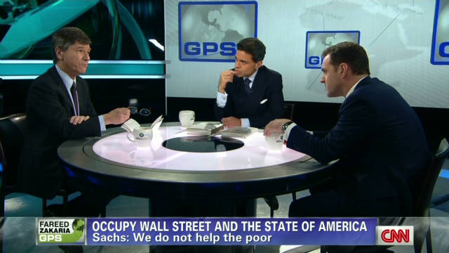 Heated debate on the Occupy movement