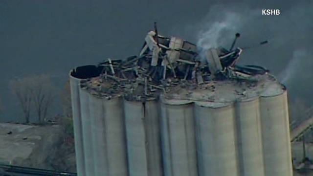 Fatal grain elevator blast in Kansas