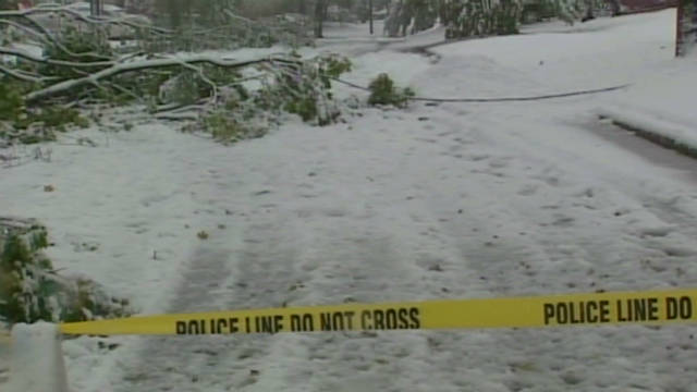 Snowstorm leaves millions without power