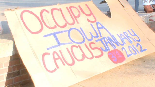 Occupy the Iowa caucuses?