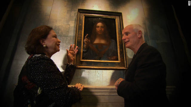 "Nick Glass talks to restorer Dianne Modestini about bringing the ""Salvator Mundi"" back to its original state."