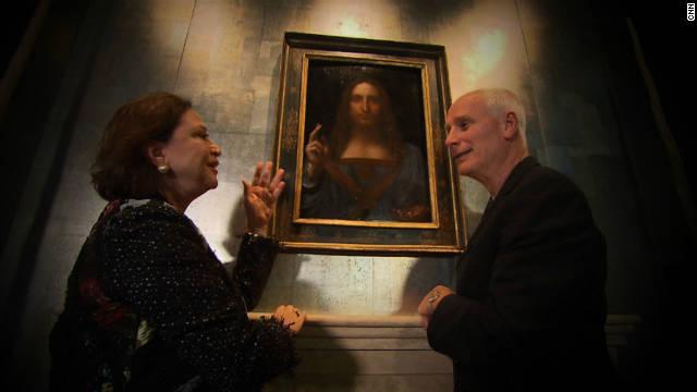 "Nick Glass talks to restorer Dianne Modestini about bringing the ""Salvator Mundi"" back to its original state."