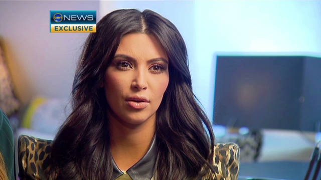 Kim Kardashian: 'I married for love'