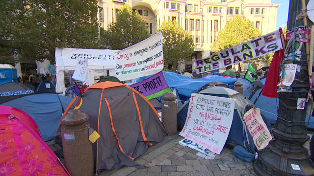 St. Paul's ends bid to halt Occupy