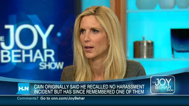 Coulter weighs in on Cain allegations