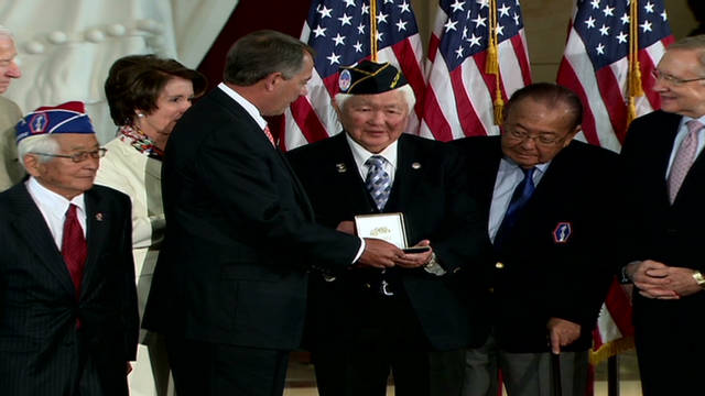 Japanese WWII vets honored
