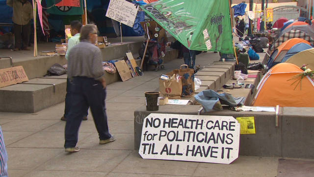 Challenges facing Occupy San Francisco
